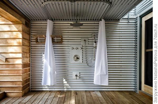 Душ в частном доме, Онтарио, Канада. Фото с сайта http://www.edleimgardtcontracting.com/