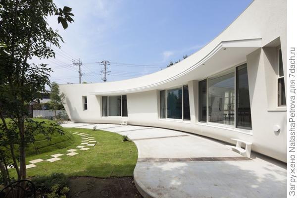 Дом до посадки зелёного экрана. Фото с сайта http://kumakihideo.blogspot.com
