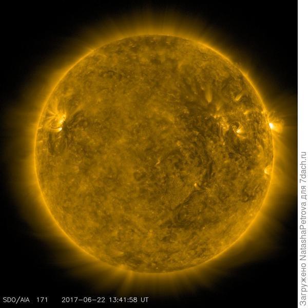 Солнце. Фото с сайта https://sdo.gsfc.nasa.gov