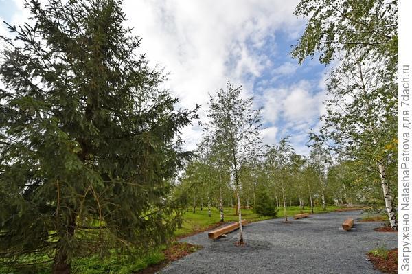 Парк Зарядье - территория бережного отношения к природе и истории. Фото с сайта stroi.mos.ru
