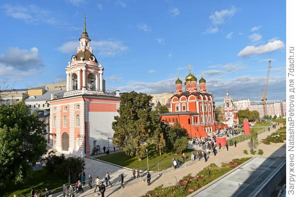 В ходе строительства отреставрировали исторические здания. Фото с сайта stroi.mos.ru