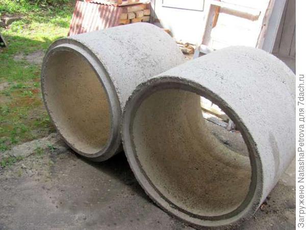 Бетонные кольца с замком. Фото с сайта http://kolodec.guru