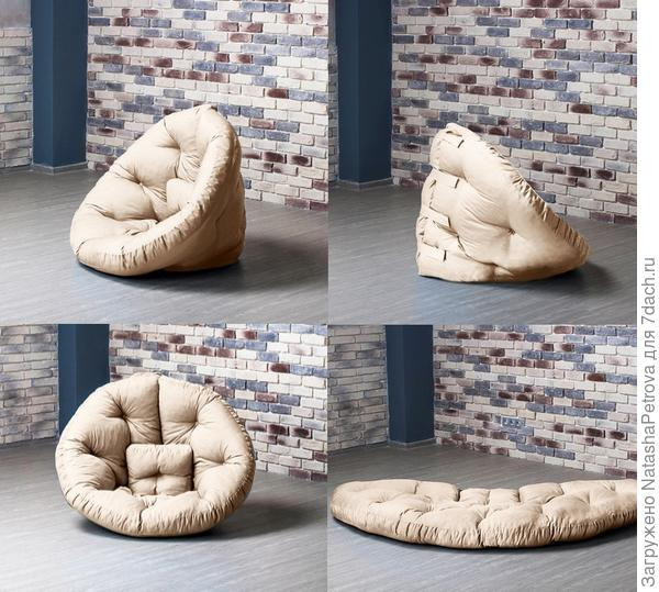 Кресло Оустер из футона. Фото с сайта http://gliver.ru
