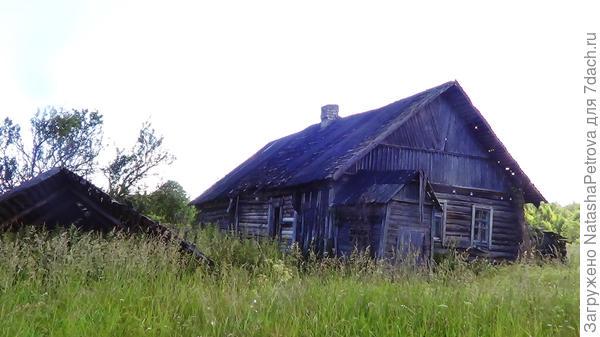 Деревня Вярьмово в Псковской области. Фото автора