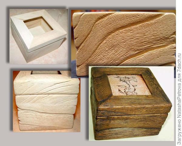 Состаривание древесины. Фото с сайта http://o-drevesine.ru/