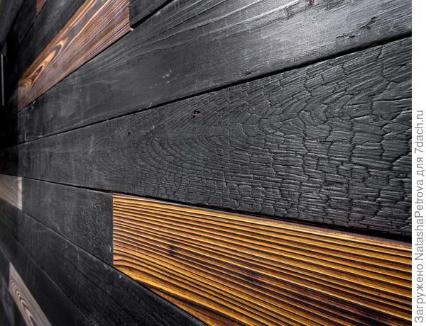 Облицовка в технике Shou Sugi Ban. Фото с сайта http://www.urbantimber.ca
