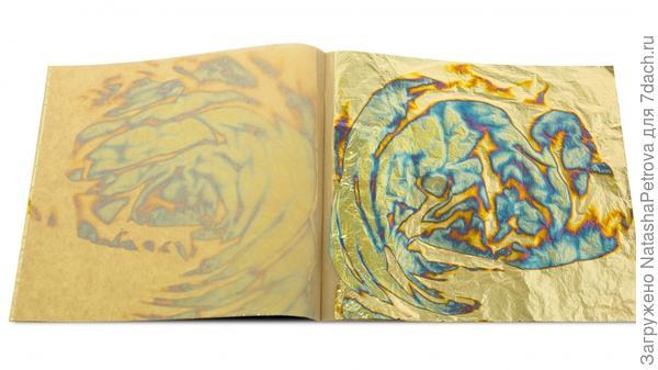 Оксидированная поталь. Фото с сайта http://www.noris-russia.ru