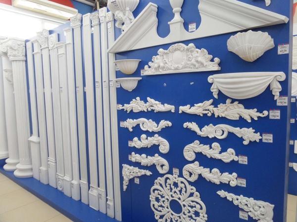 Магазин полиуретановой лепнины. Фото с сайта solid-decor.ru