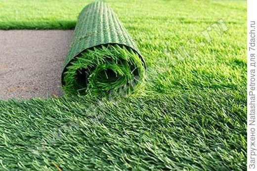 Искусственная трава. Фото из интернета