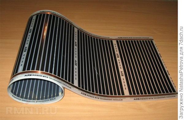 Инфракрасные плёночные нагреватели. Фото из интернета