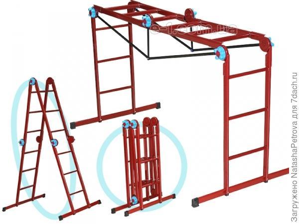 Лестница-трансформер. Фото из интернета