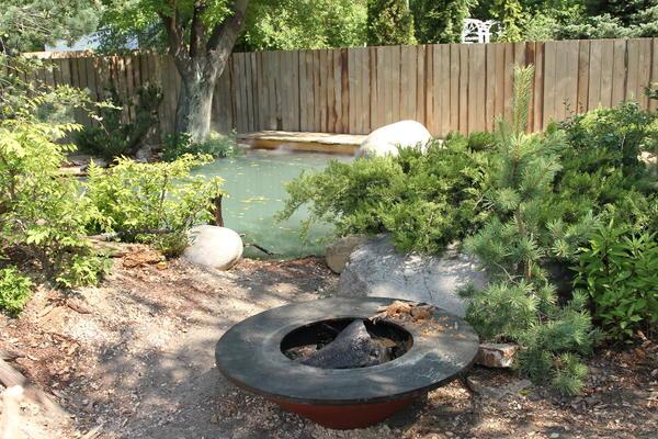 Ещё один ракурс сада Прометея. Фото Елены Зотовой