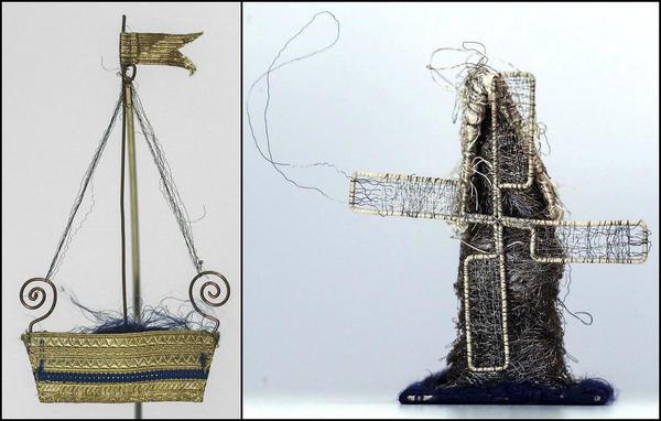 Игрушки из остатков тканей для пошива формы. Фото с сайта https://tass.ru