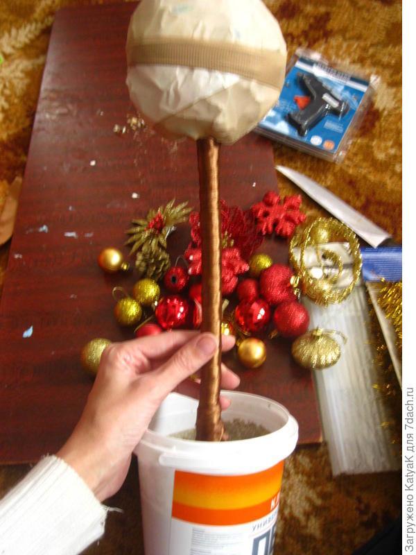 топиарий новогодний