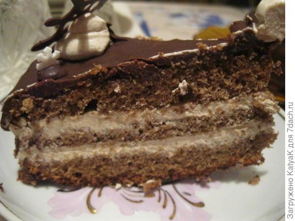 Торт Прага по ГОСТу