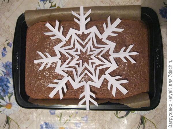 пирог брауни