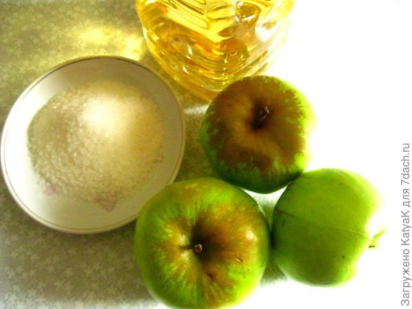 блины с яблоками постные