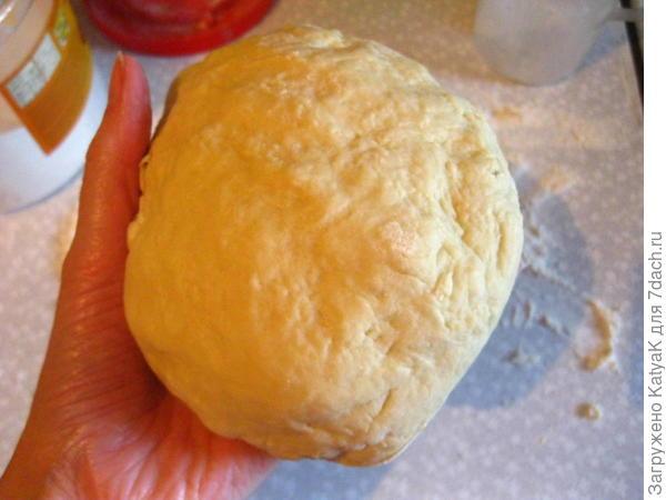 отрывной пирог с курицей и грибами