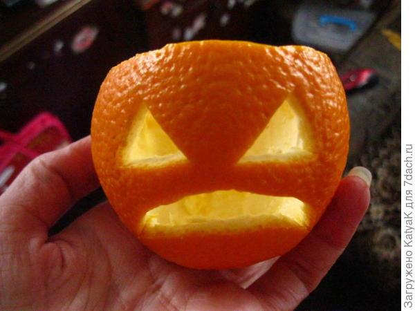 апельсин хелоуин