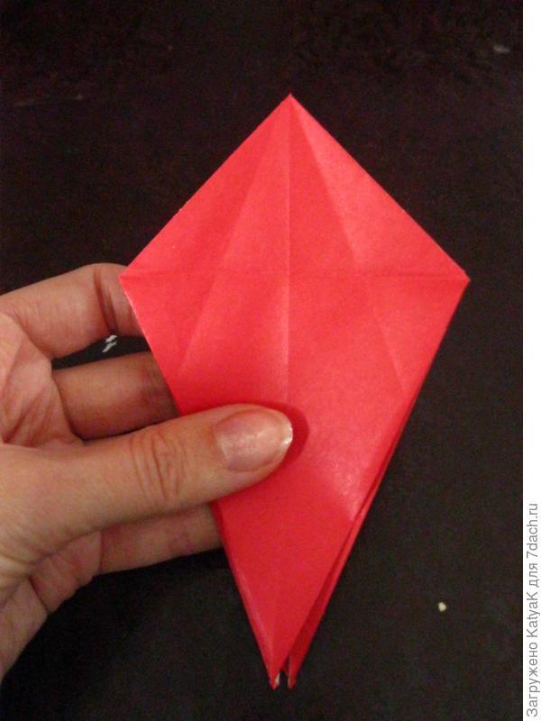 осенние листья оригами
