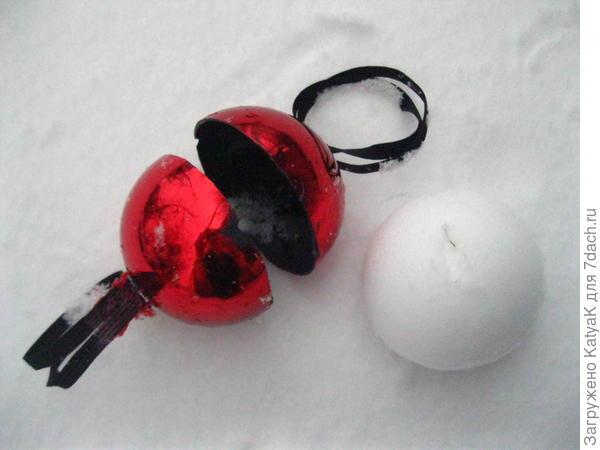 самодельный снежколеп