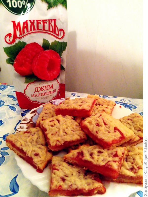 печенье с джемом махеев