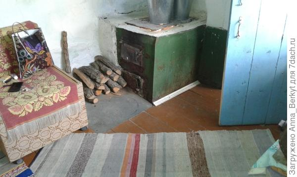 печка в баньке