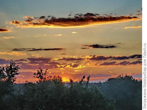 Алматинский закат