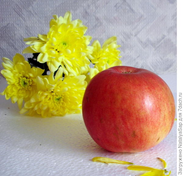 яблочно-цветочный аромат
