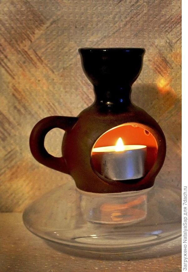 аромалампа со свечой