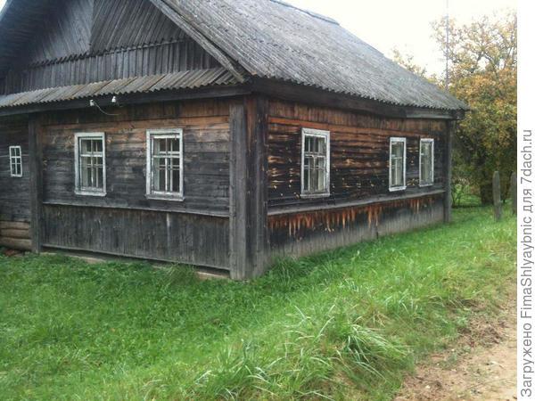 Дом Толяя. Обкошен.