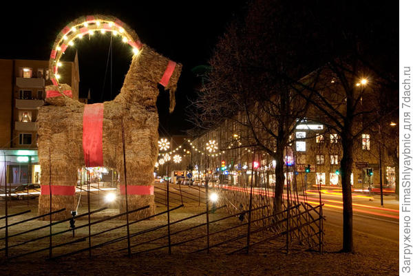 Евльский козел вечером. Фото с сайта lifeathome.ch
