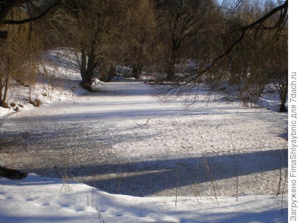 Вярьмовский зимний пруд