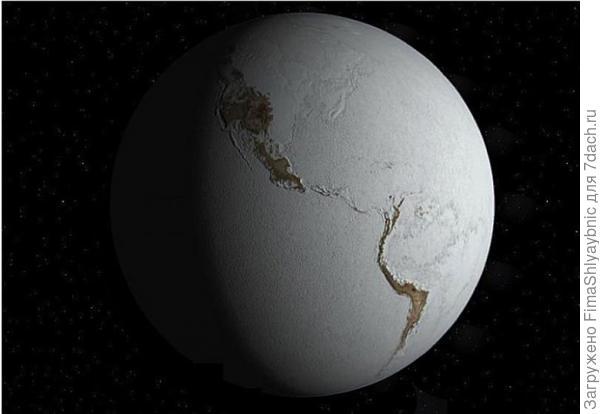 Земля замерзала до экватора. Фото с сайта rusjev.net