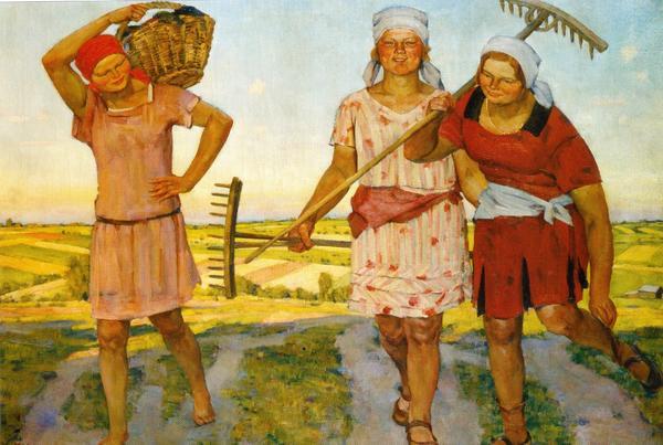 Женщины колхозницы. 1938 год. Фото с сайта kryaker.dwg.ru