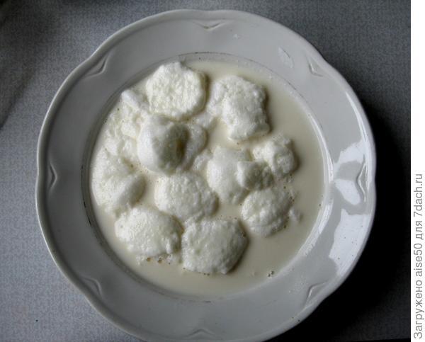 Десерт «Снежки», или «Теплое мороженое» - пошаговый рецепт приготовления с фото