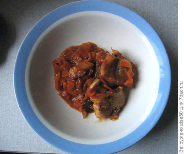 рыба в томате