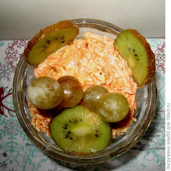 Салат десертный Праздничный вкус