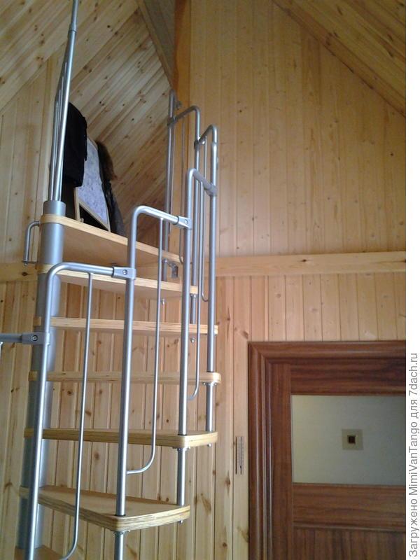 Комната на верху.