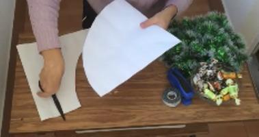 заготовка для будущей елки