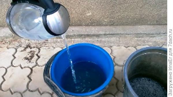 10 литров теплой воды