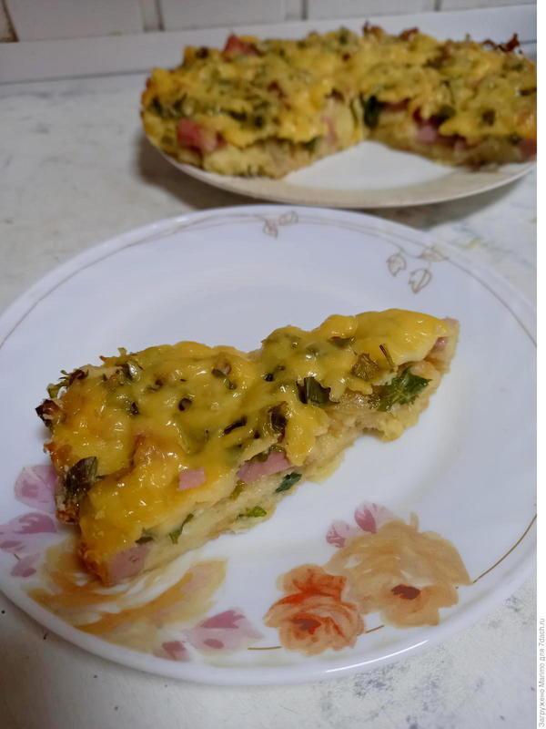 Пирог из батона, кефира и яиц. Быстрый рецепт приготовления с фото