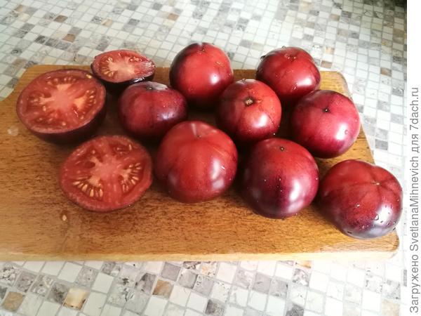 Плоды на разрезе