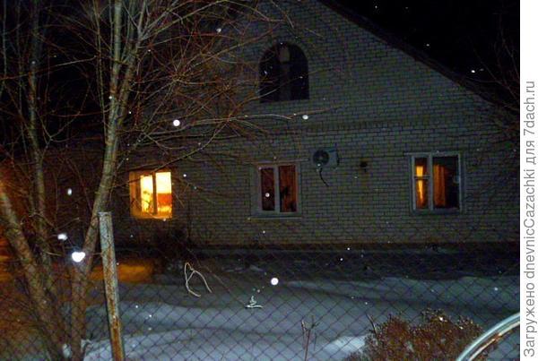 наш дом зимой