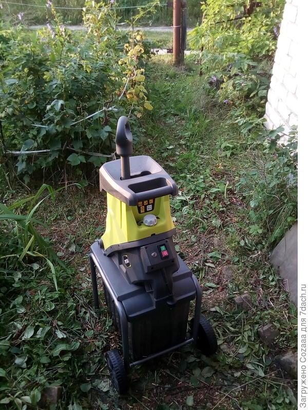 Электрический садовый измельчитель ryobi rsh2545b отзывы