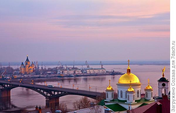 Вот тут хорошо видно расширение. Это уже Волга.