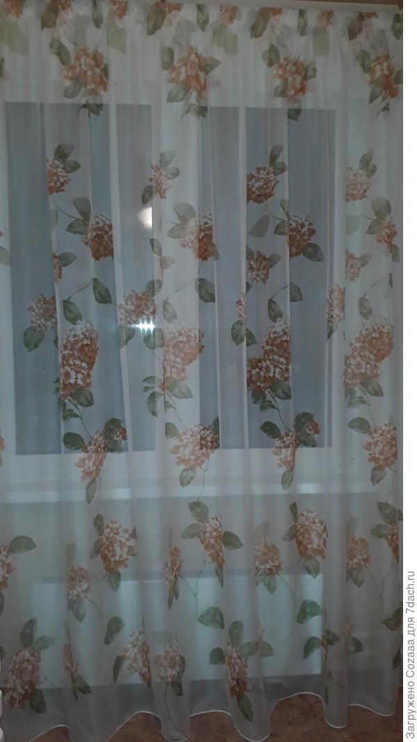 Ткань обошлась мне в 1,6 тысяч рублей ÷ шторная лента 100 рублей.