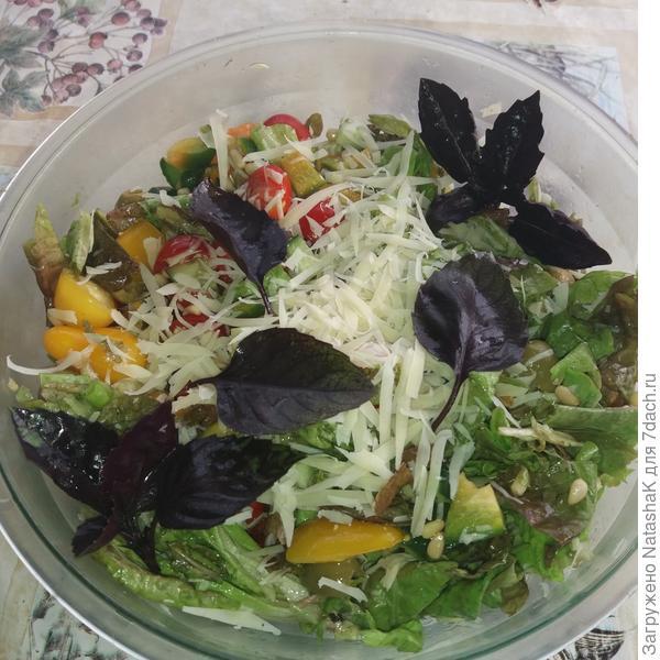 Любимый летний салат