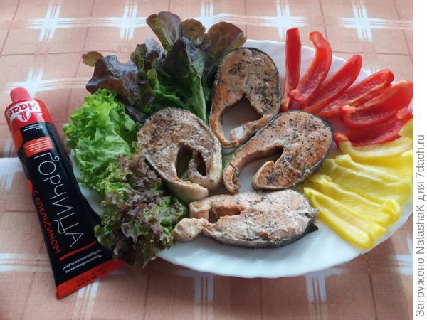 Блюдо для рыбного пикника