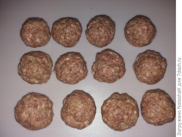 Итальянские мясные шарики - пошаговый рецепт приготовления с фото